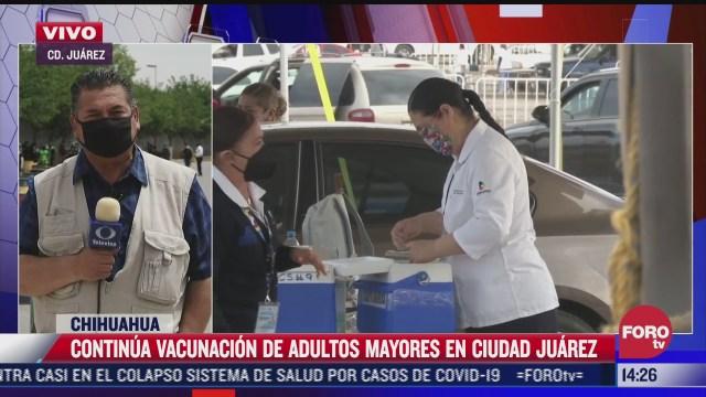 vacunan contra el covid 19 entre 4 mil y 7 mil personas por modulo en chihuahua