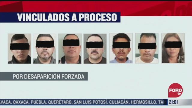 vinculan a proceso a siete policias tras desaparicion de familia villasenor