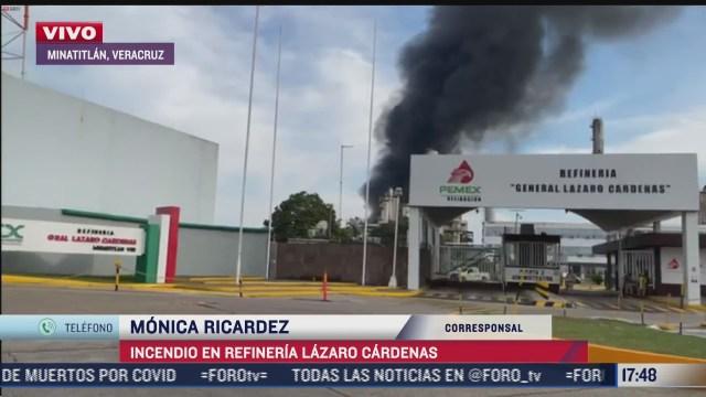 zonas aledanas a la refineria lazaro cardenas aun no han sido evacuadas