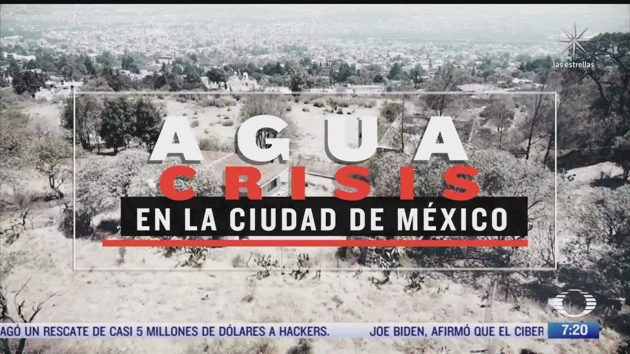 acciones en barrios y colonias contra desabasto de agua en el valle de mexico
