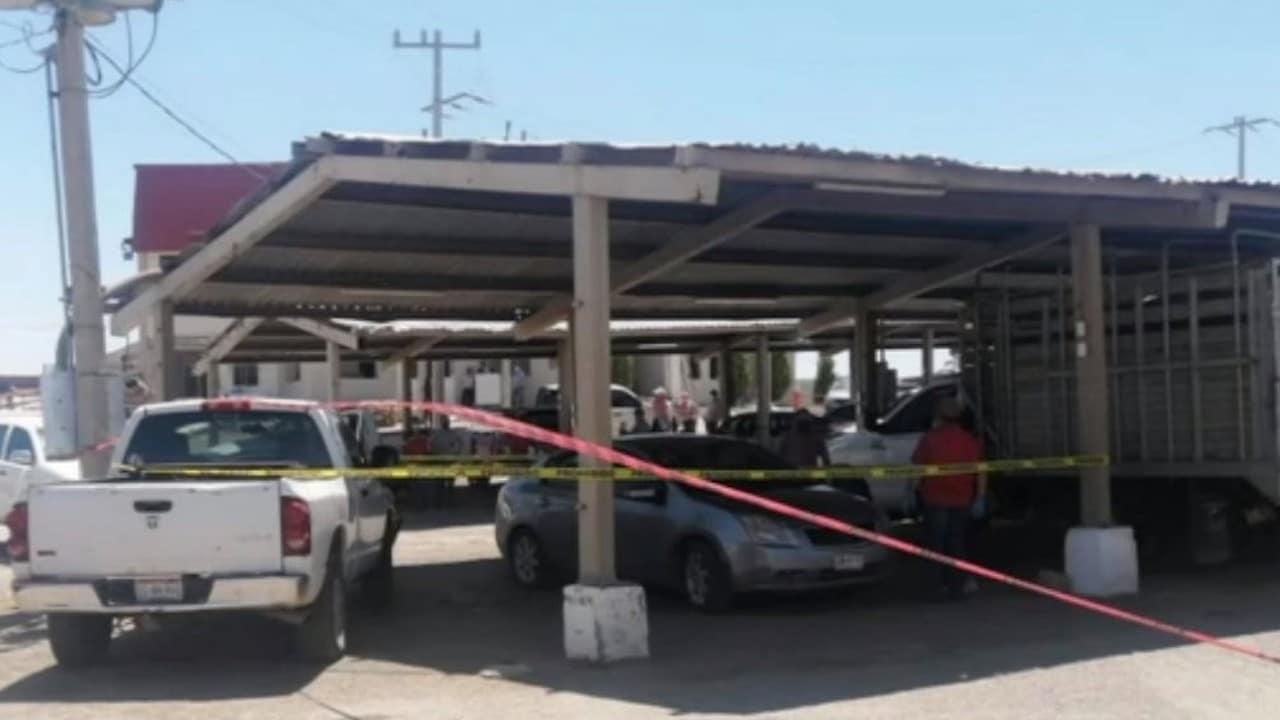 Autoridades acordonaron la zona (Noticieros Televisa)