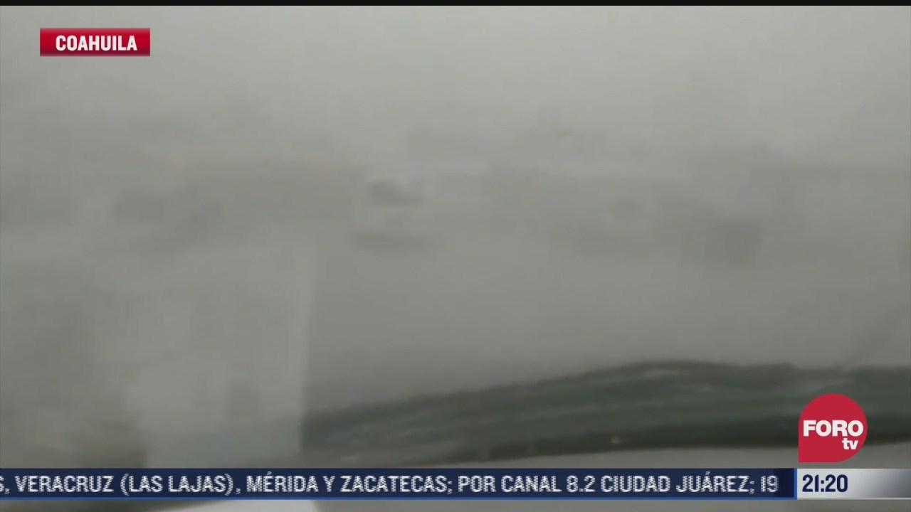 afectaciones por tormenta en piedras negras coahuila