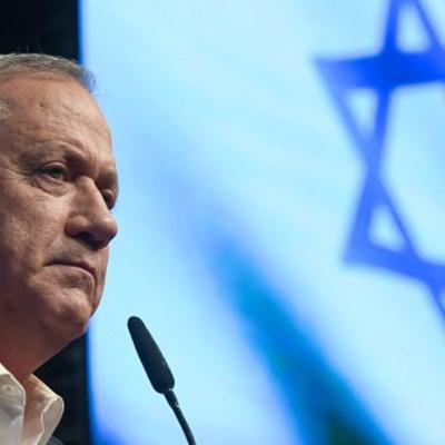 Fotografía del ministro de Defensa israelí, Beny Gantz