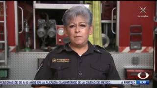 bomberas combinan su profesion con ser madres