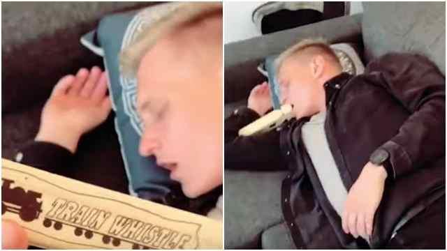 broma viral, video, prank, flauta, captura de pantalla