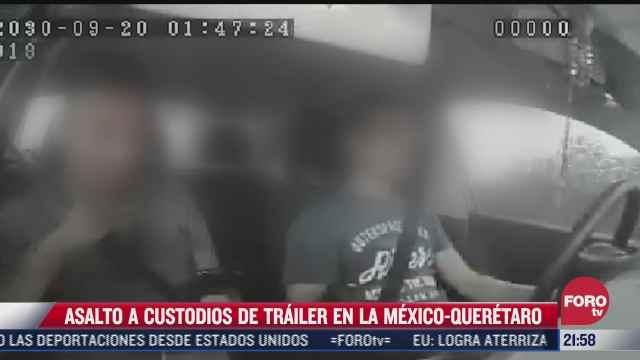 captan asalto a custodios en la mexico queretaro