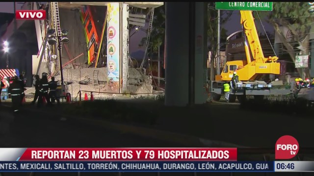 cerrada avenida tlahuac en ambos sentidos tras desplome de ballena en metro olivos cdmx