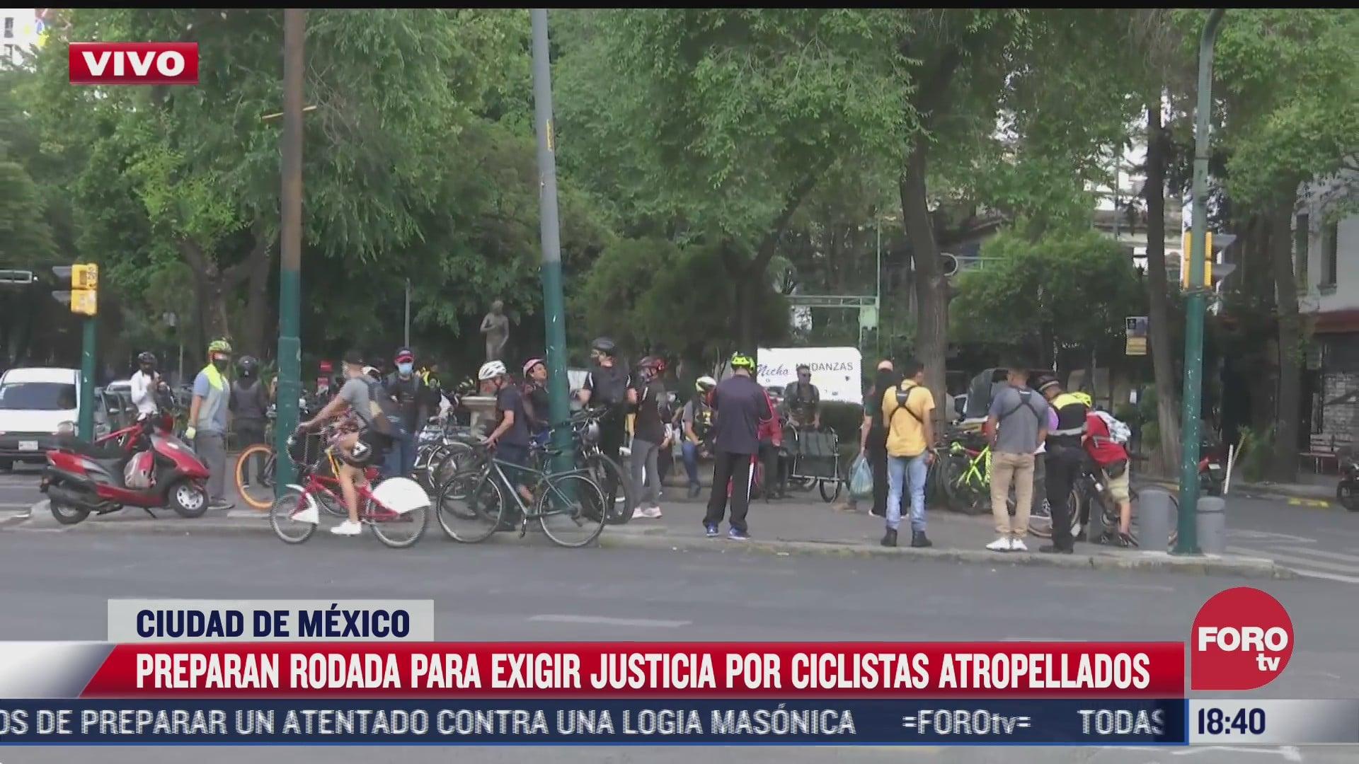 Ciclistas rodarán rumbo a colonia Clavería para exigir justicia