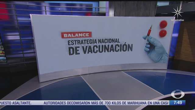 como ha sido el esquema de vacunacion contra covid 19 en mexico