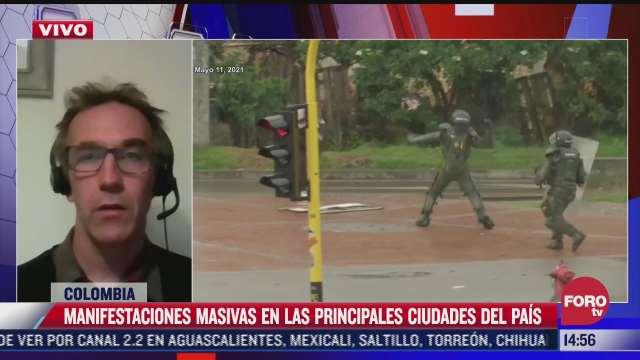 como se origino la situacion de crisis politica en colombia