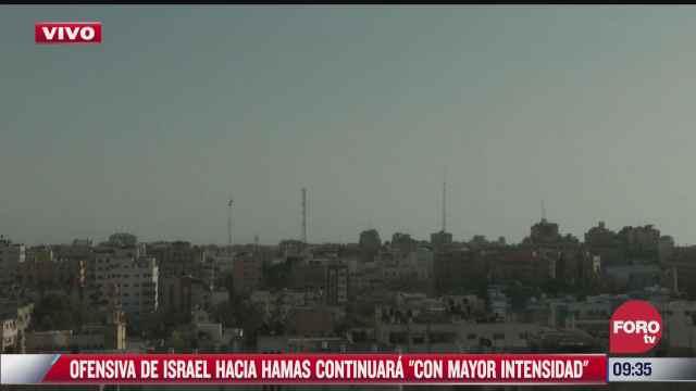 continuan los enfrentamientos entre militantes de hamas e israelies