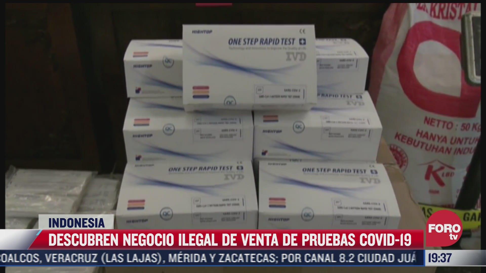 Descubren venta de pruebas anticovid con hisopos reutilizados