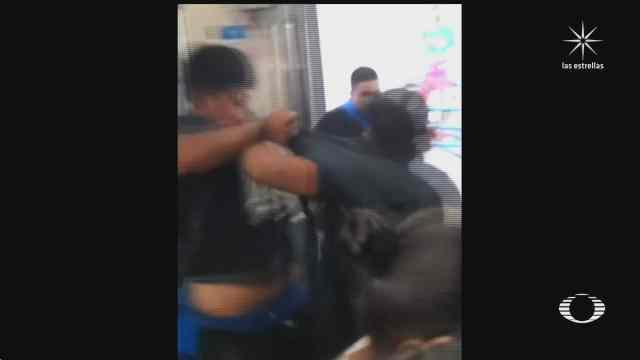 difunden video de pelea campal en metro de monterrey