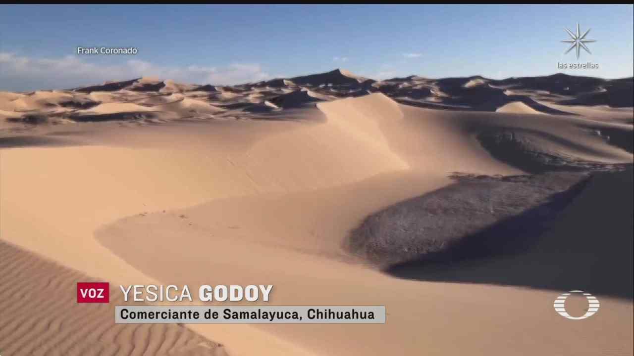 dunas de samalayuca chihuahua reconocidas como mejor destino turistico ecologico