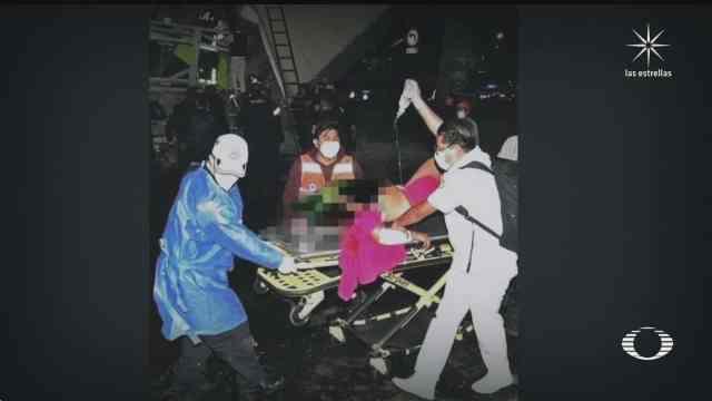 Enfermeros del IMSS que viajaban en la línea 12 del Metro y apoyaron al momento del accidente