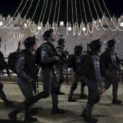 Enfrentamiento-en-Jerusalén-deja-59-heridos