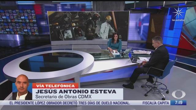entrevista a jesus antonio esteva secretario de obras y servicios de la cdmx para despierta