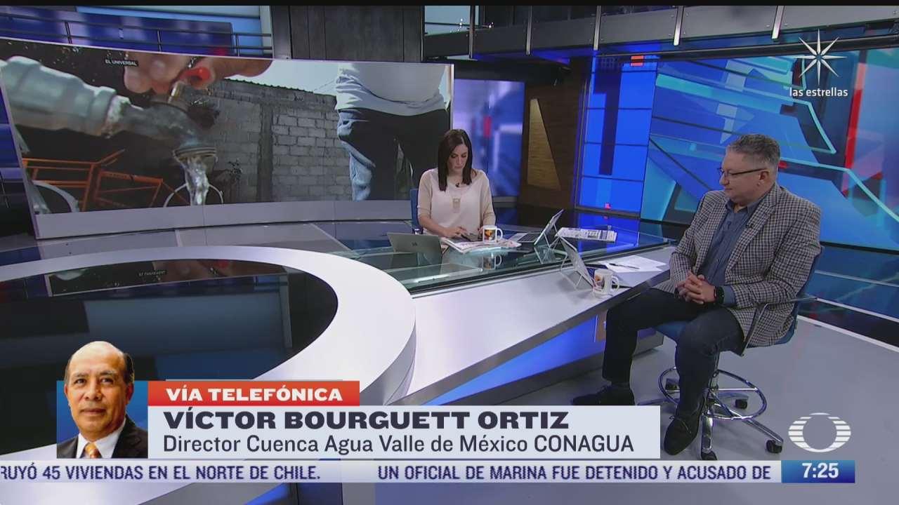 entrevista con victor bourguett ortiz director de cuenca aguas del valle de mexico para despierta