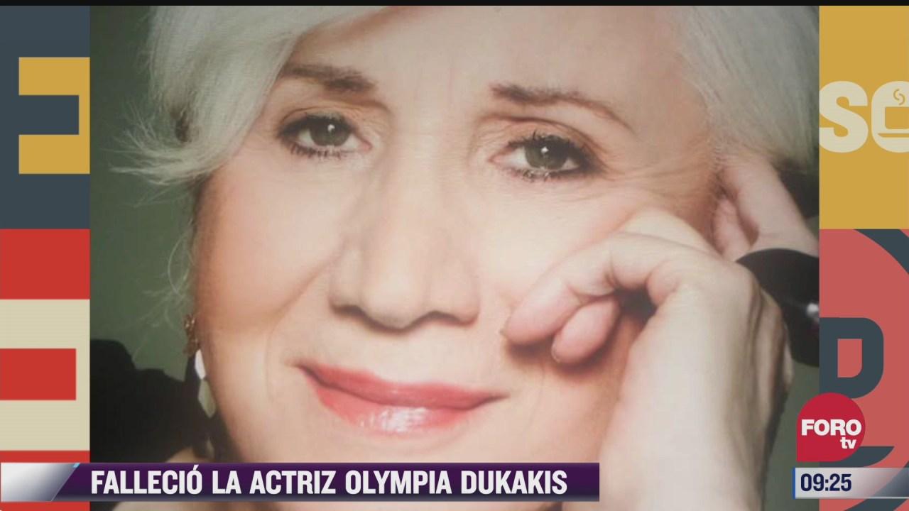 espectaculosenexpreso fallecio la actriz olympia dukakis