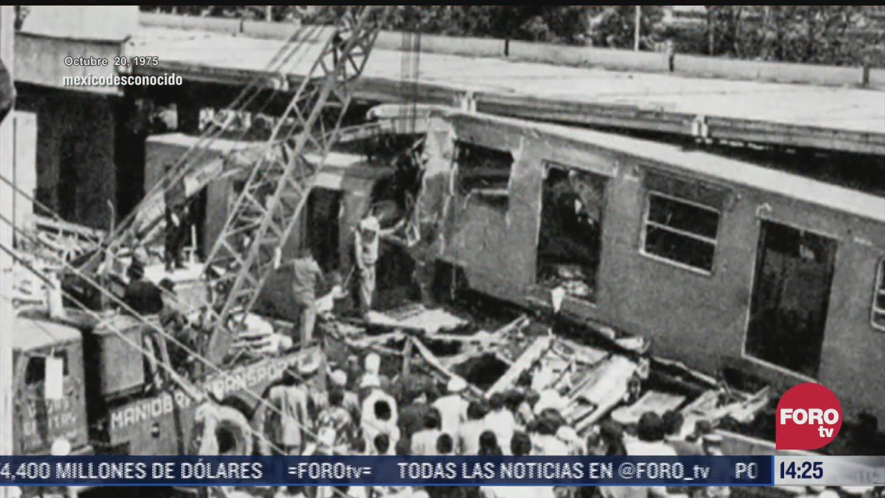 estos son los accidentes mas graves a lo largo de historia del metro