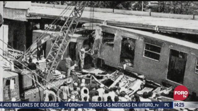 estos son los accidentes mas graves a lo largo de historia del metro