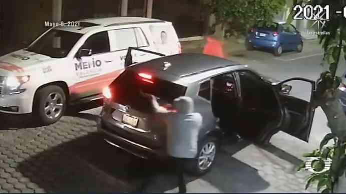Guillermo Valencia narra cómo fue el atentado sufrido en Morelia. (Foto: Captura de pantalla, Noticieros Televisa).