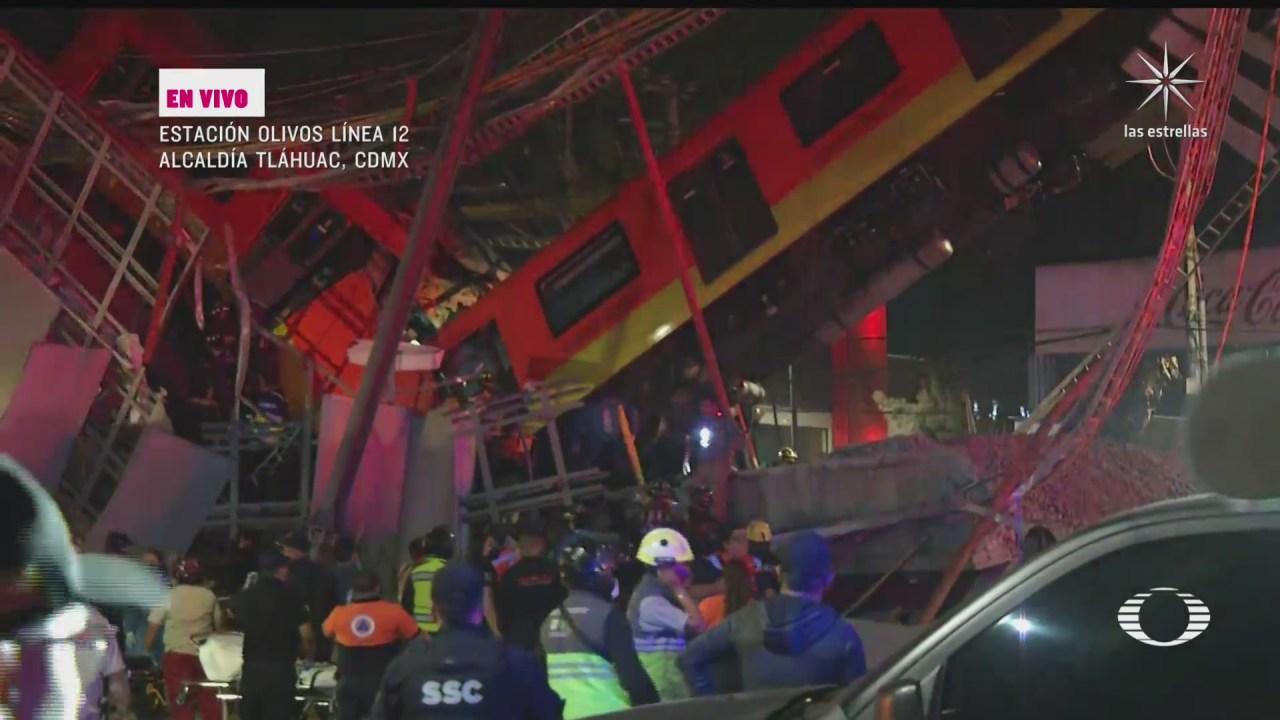 hospitales de tlahuac e iztapalapa habilitados para decir heridos por accidente en metro olivos