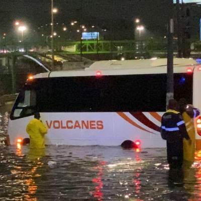 Inundaciones en Zaragoza. FOTO Redes Sociales