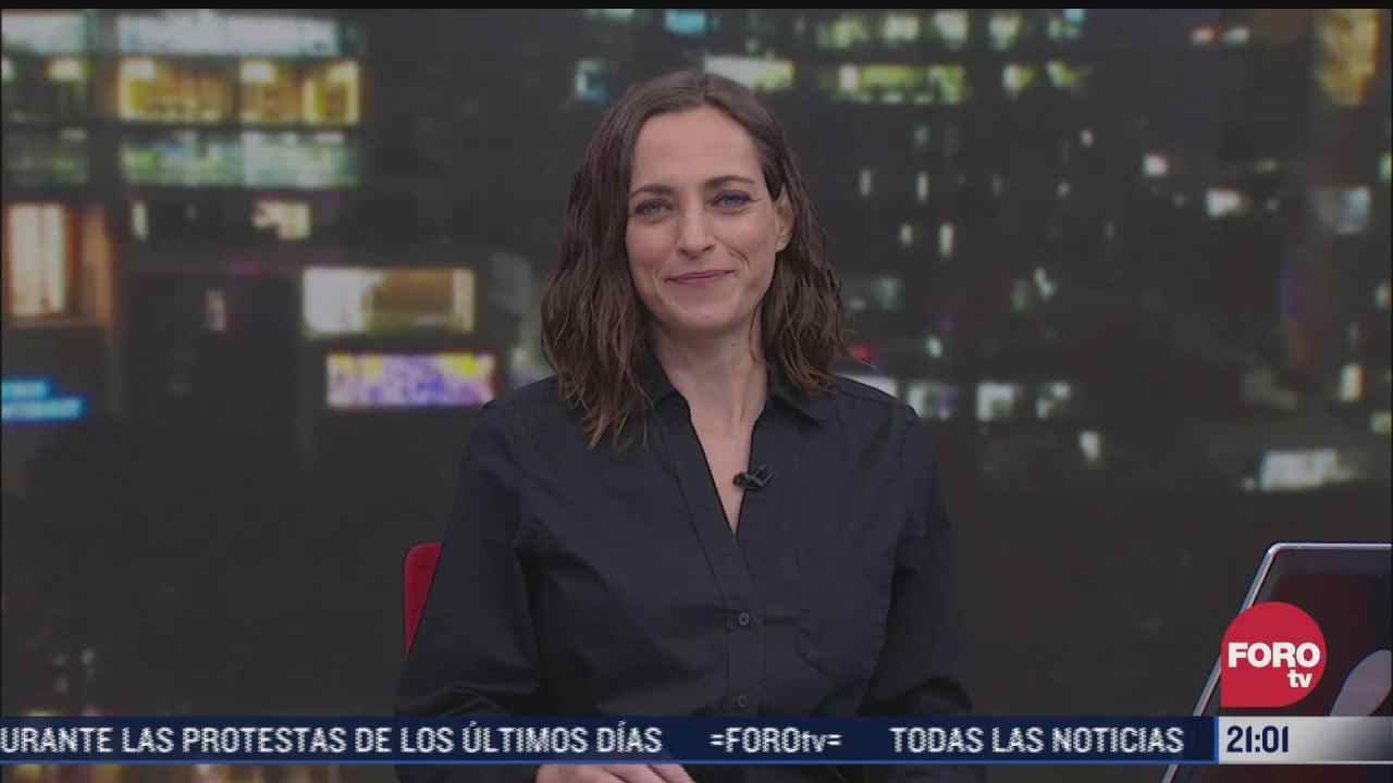 las noticias con ana francisca vega programa del 10 de mayo de