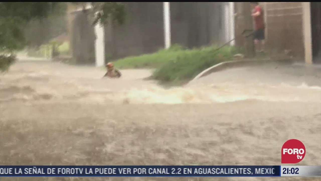lluvias provocan danos en nl veracruz y durango
