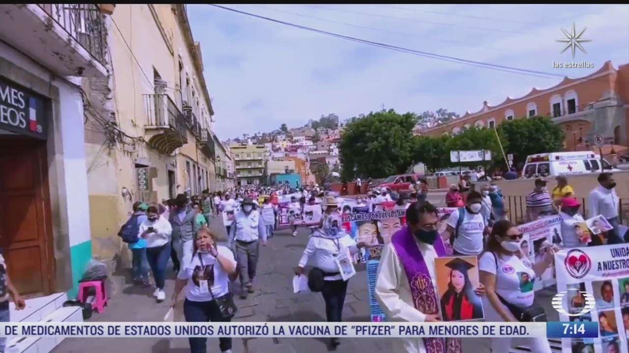 madres de desaparecidos se manifiestan en diversas partes de mexico