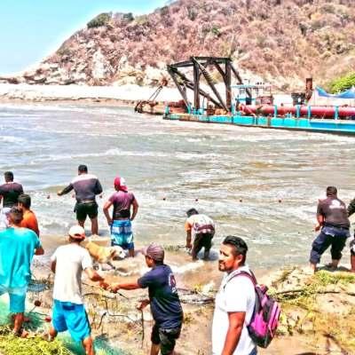 Menor desaparece en laguna Cerro Hermoso, Oaxaca, varias personas participan en su búsqueda