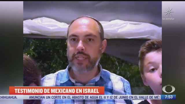 mexicanos en israel en medio del conflicto con los palestinos