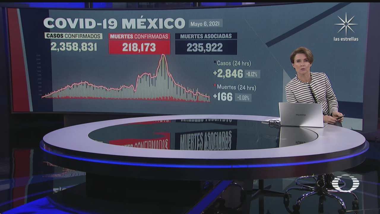 mexico continua con tendencia a la baja de covid