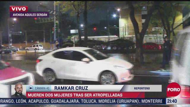 mueren dos mujeres tras ser atropelladas en avenida aquiles serdan