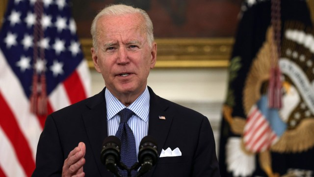 El presidente de Estados Unidos, Joe Biden (Getty Images)