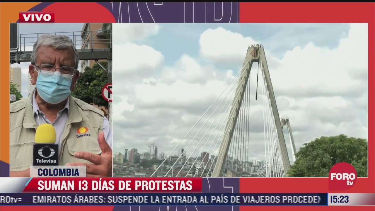 presidente de colombia mantiene primeras conversaciones con comite de manifestantes