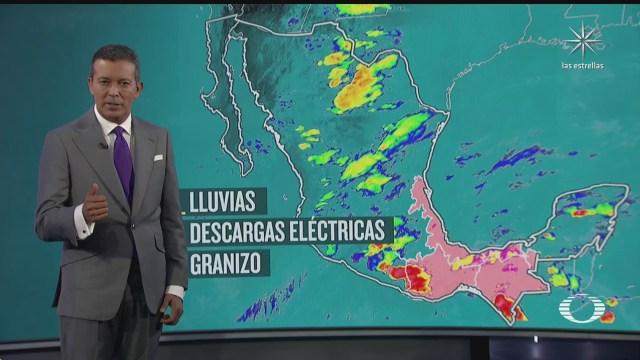 pronostican lluvias muy fuertes en chiapas oaxaca tabasco y veracruz