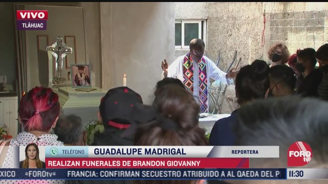 realizan funeral de brandon giovanny menor que murio en accidente del metro cdmx