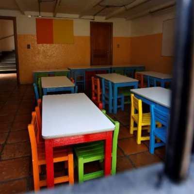 Salón de clases en la Ciudad de México