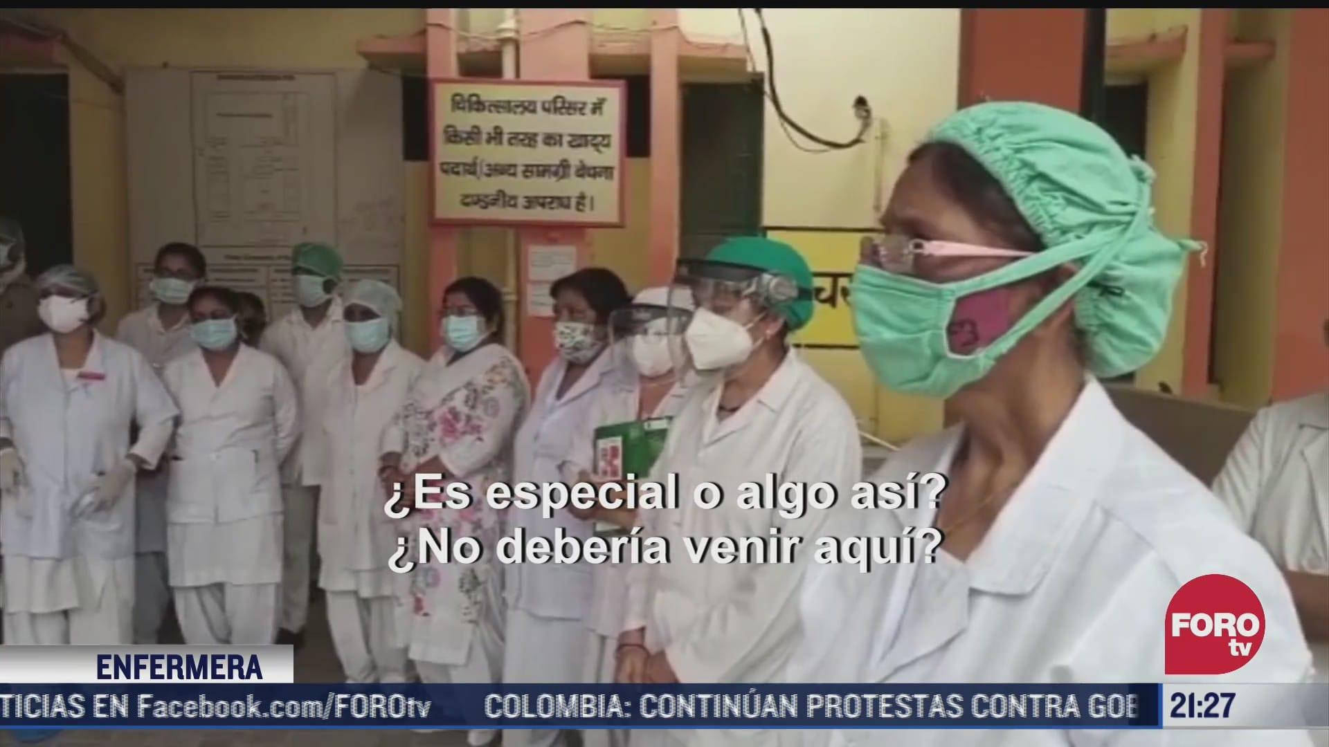 Severa crisis por pandemia de COVID-19 en la India
