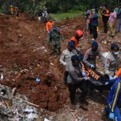 Siete muertos por alud en mina de Ora de Indonesia