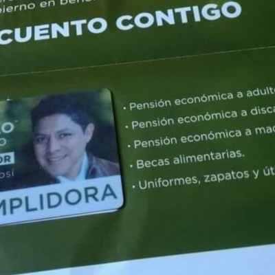 Tarjetas de apoyos económicos, controvertida y polémica apuesta electoral de candidatos