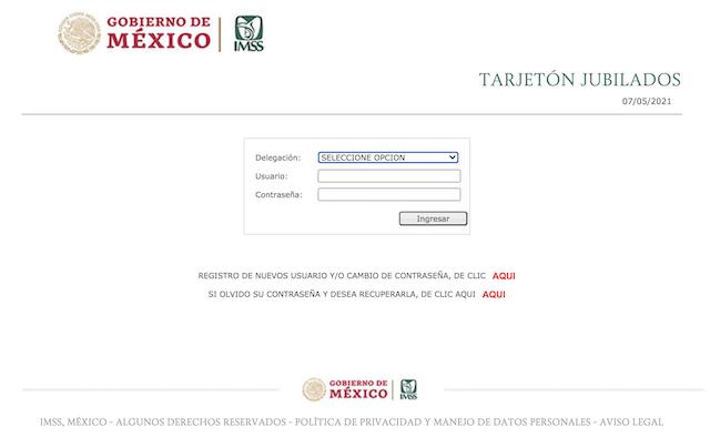 Registrarte Portal Tarjetón IMSS Imagen