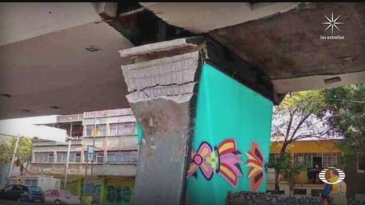 usuarios ya habian reportado fallas en la linea dorada del metro cdmx