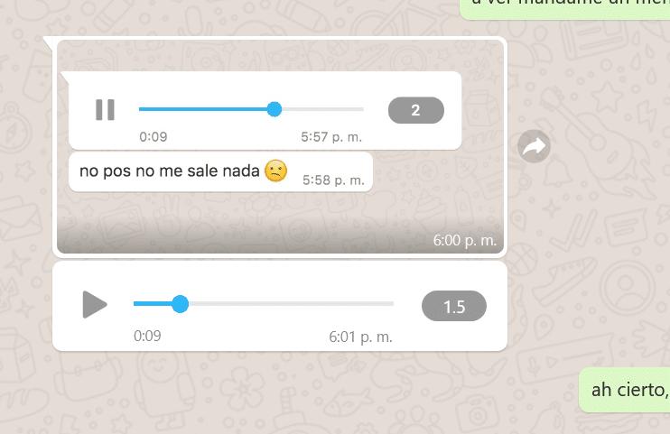 whatsapp, mensajes de voz, audio, funciones, captura de pantalla