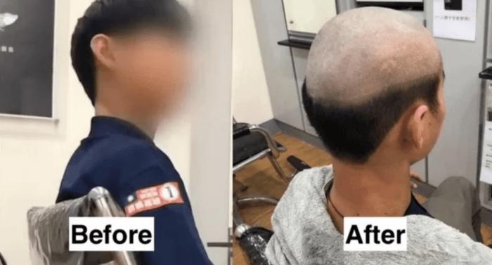 El corte de pelo para prevenir COVID-19 en Taiwán