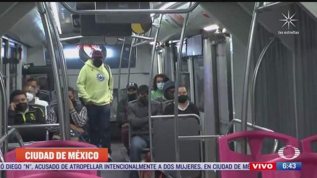 abren nueva ruta del metrobus para atender a usuarios de la l12 del metro
