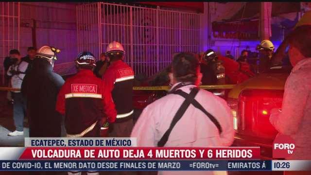 accidente de transito deja cuatro muertos en la avenida central
