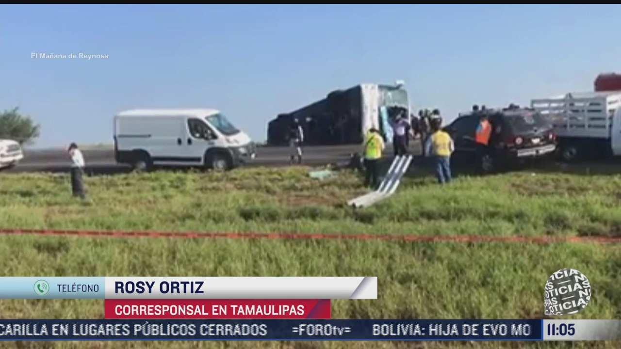 accidente en carretera de tamaulipas deja ocho muertos